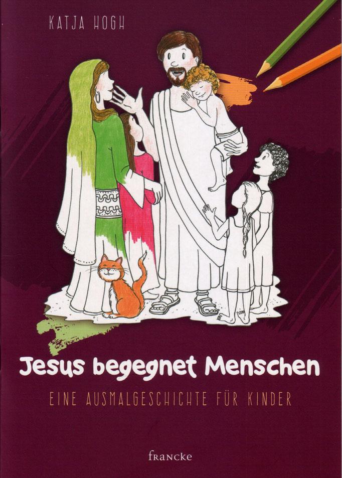 Jesus begegnet Menschen - Eine Ausmalgeschichte für Kinder