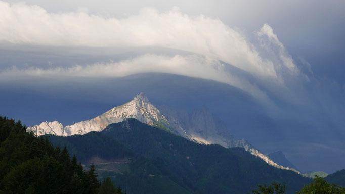 Österreich, Karawanken - vor dem Sturm
