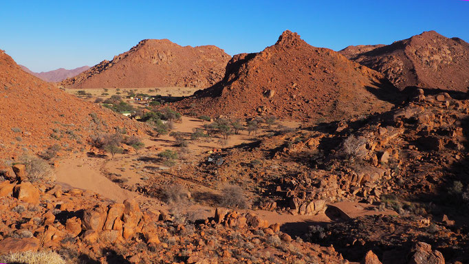 Namibia, Tiras Mountains