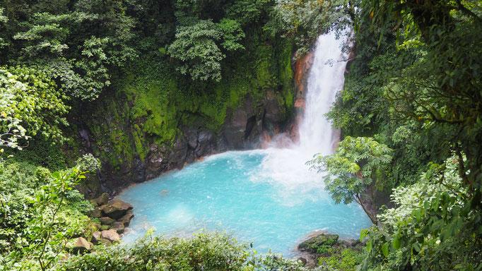Costa Rica, Catarata Rio Celeste