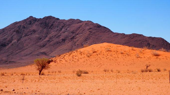 Namibia, entlang der Namibwüste