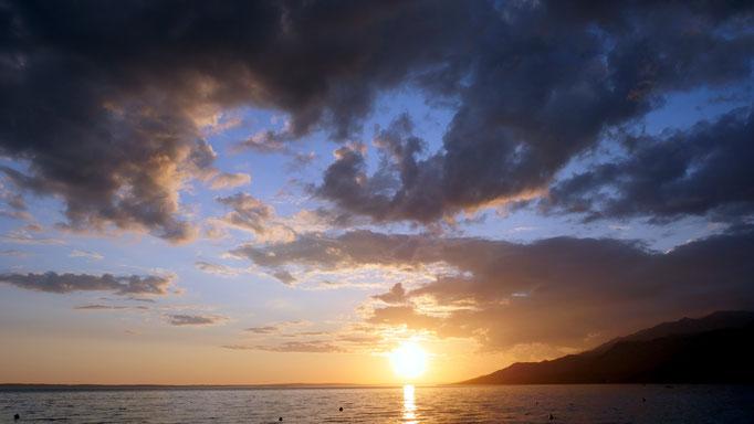 Kroatien, Küste bei Paklenica