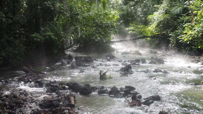 Costa Rica, heiße Quellen bei El Chillon