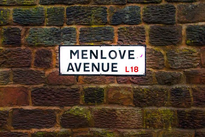 Menlove Avenue, ( where Aunt Mimi lived ), Woolton, Liverpool
