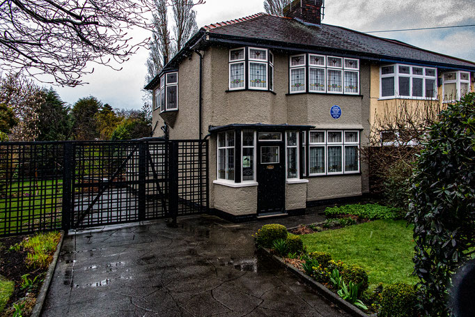 Aunt Mimi´s House, John Lennon´s Childhood Home, Woolton, Liverpool