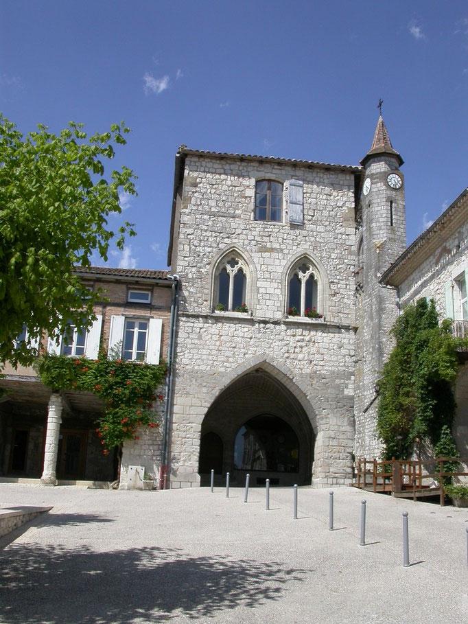 """Bastide de Monflanqun """"la maison du prince noir"""""""