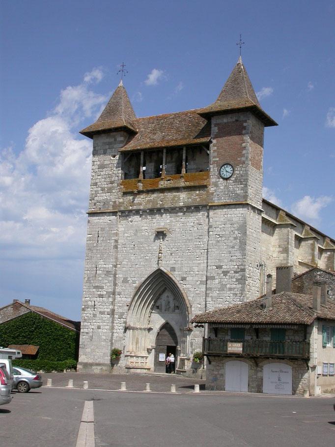 Eglise de Villeréal - Lot et garonne