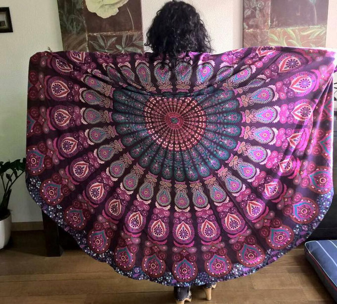 Purple Paradise roundie XL