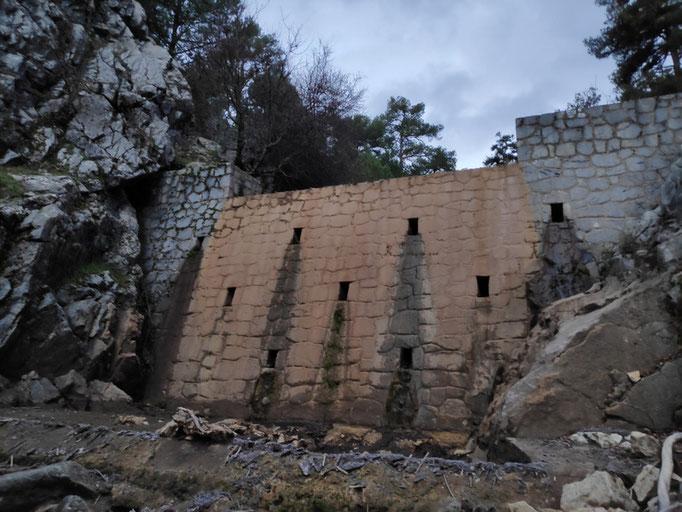 Represa del arroyo de la Rejadilla o Tío Zarzales