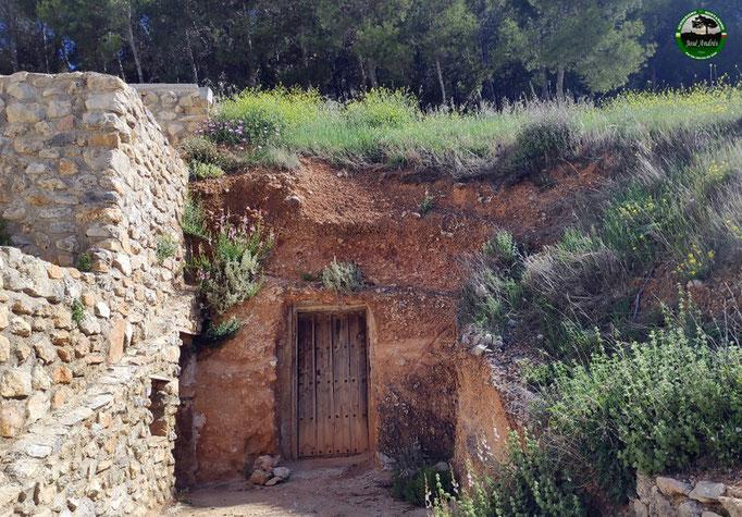 Casas cueva de Torres.