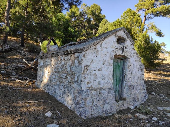 Vieja caseta de vigilancis del cerro de la Torquilla