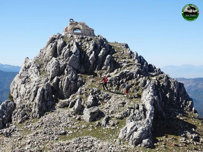 Vieja caseta del Calarejo de Los Villares