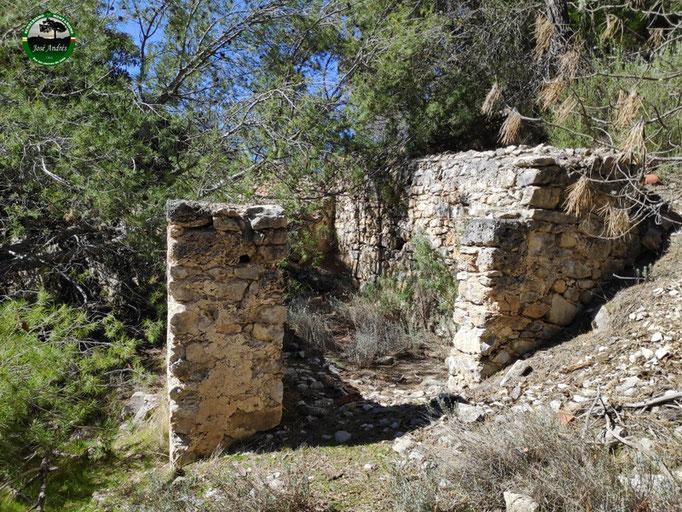 Viejo molino del arroyo Aguarrocí