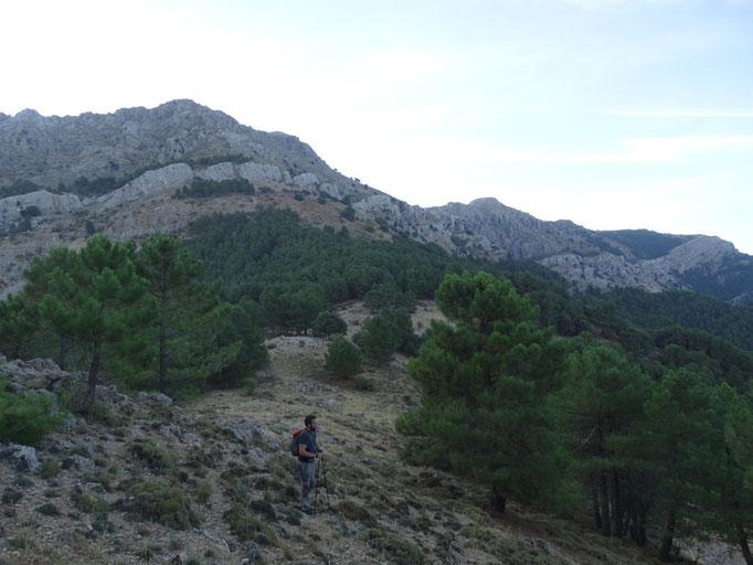 Hacia el cerro de Cagahierro