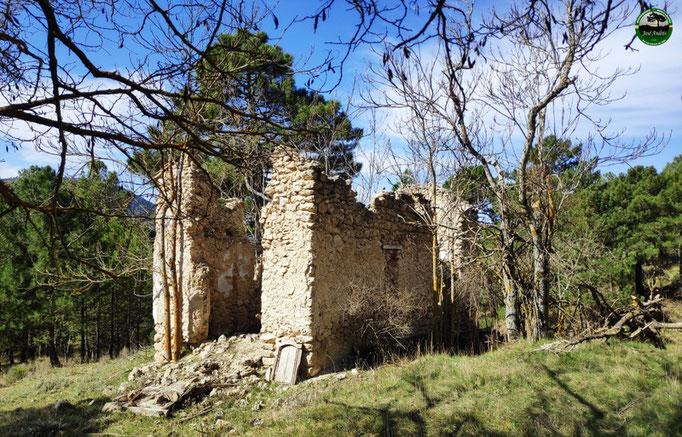 Ruinas del cortijo que hay antes de llegar al de las Tablas