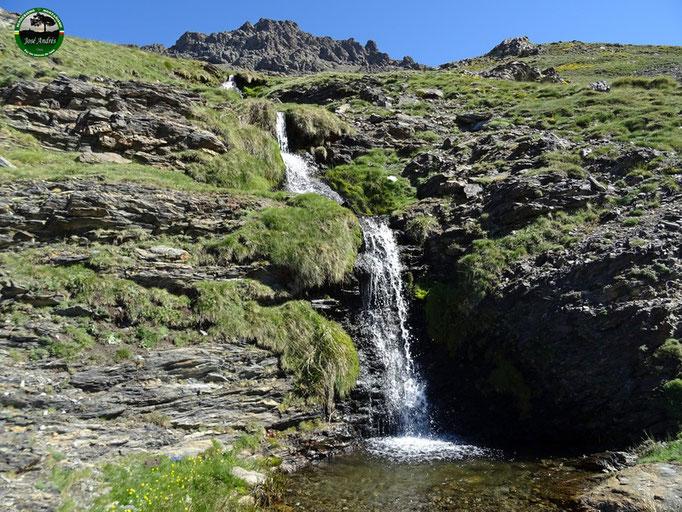 Cascada que hay junto a la acequia