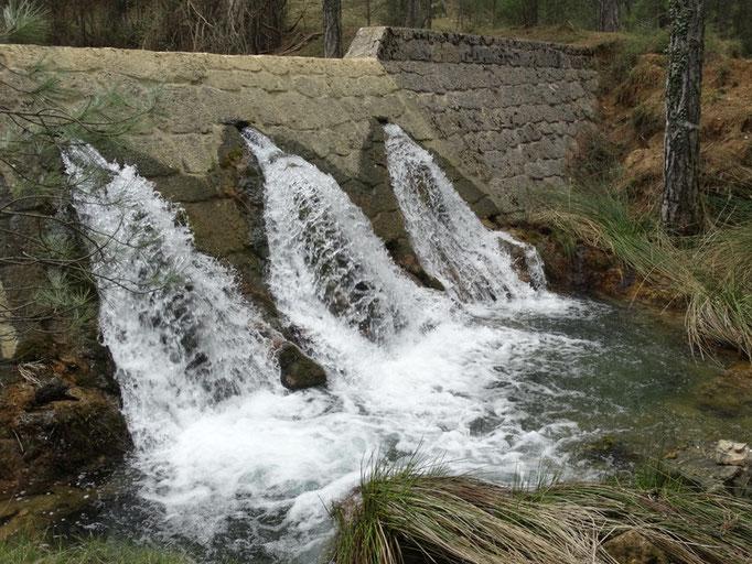Dique del arroyo de Linarejos
