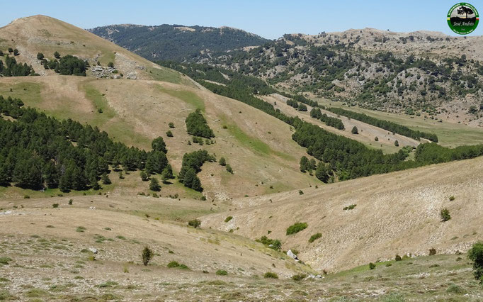 Vistas desde la Loma de la Piedra del Cuervo