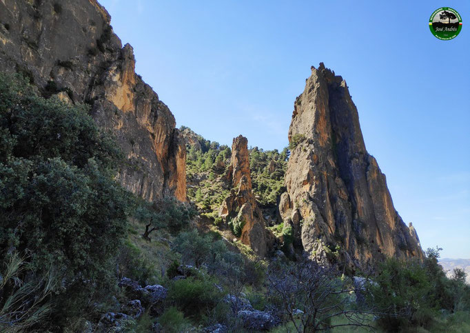 Espigones y raspones de la Sierra del Caballo