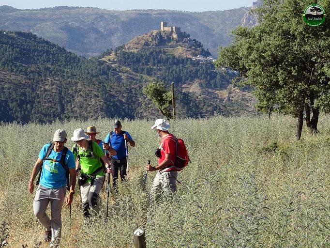 De vuelta del mirador natural del cerro de los Villares