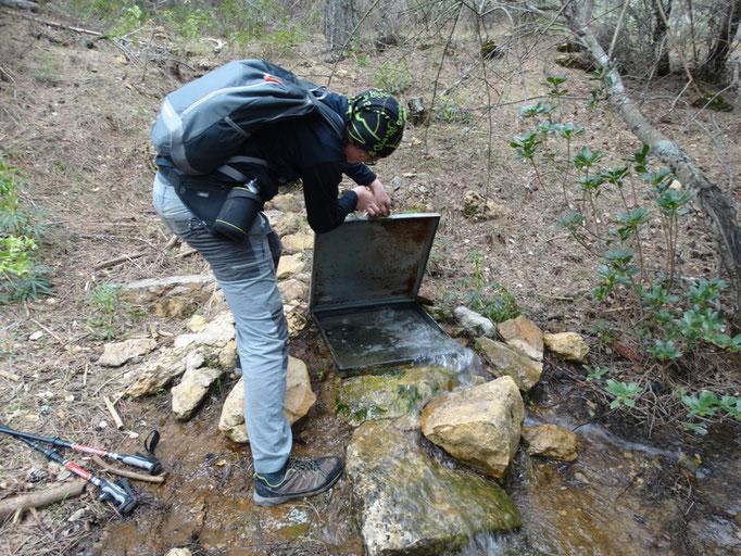 Arqueta de canalizacion de agua