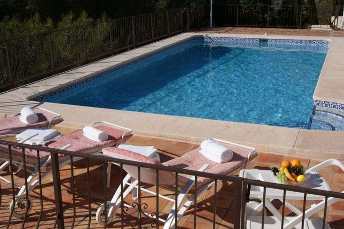 Rent a House Spain, Costa Blanca, Altea La Vella, pool golf sea beach dishwasher Benidorm Calp Albir