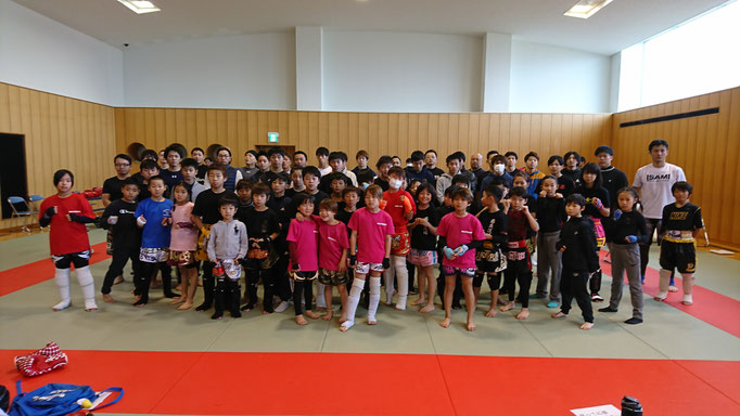 第4回大和キック&ボクシング大会 参加選手