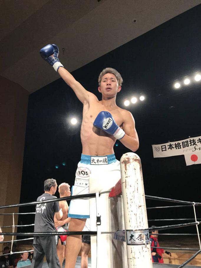 K-1 キックボクシング 奈良から優勝