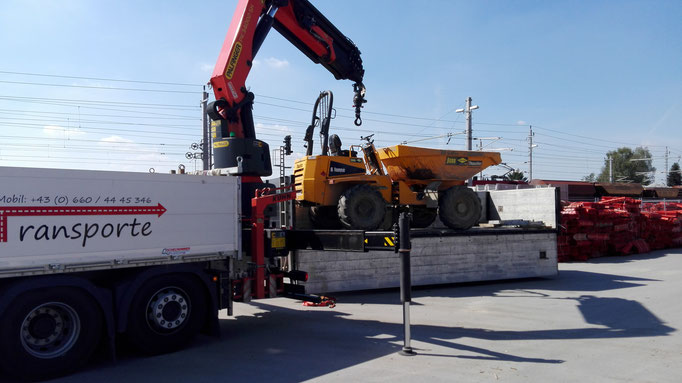 Maschinentransporte & Kran