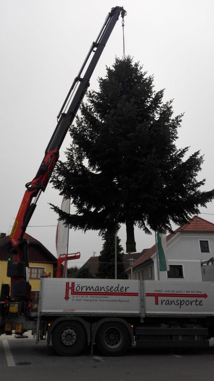 Baumarbeiten Kran