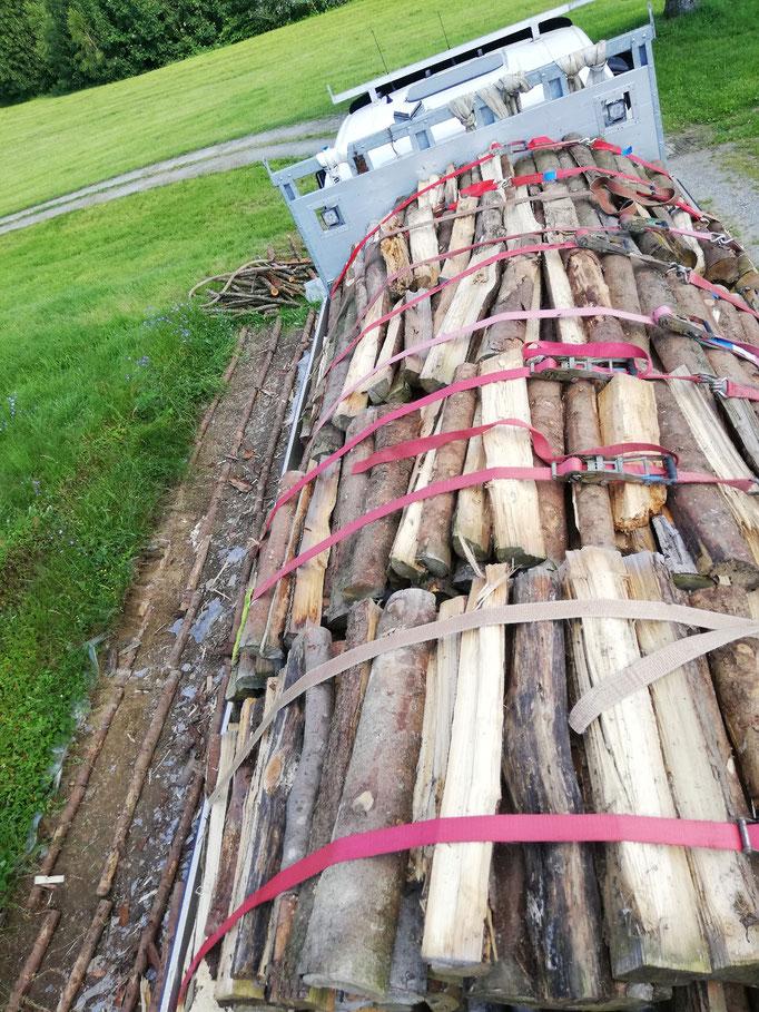 Holztransporte
