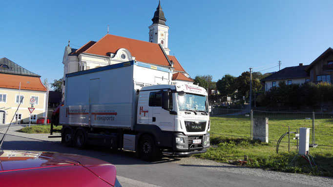 Containertransporte
