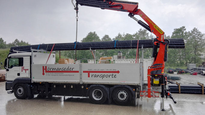 Transport & Kran Überlänge