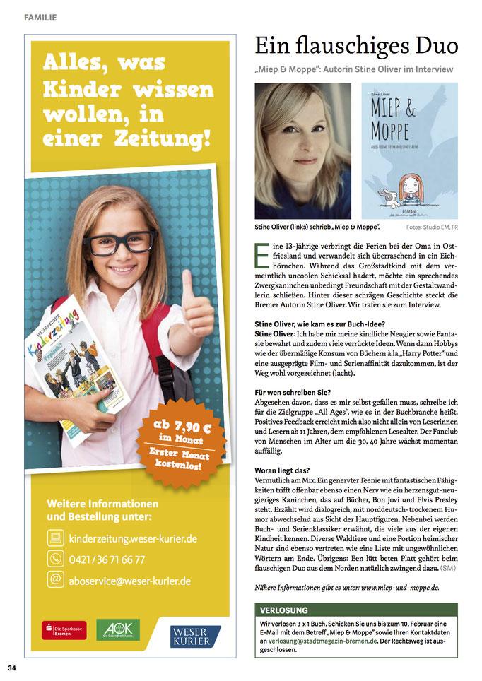 Stadtmagazin Bremen (02/2019)