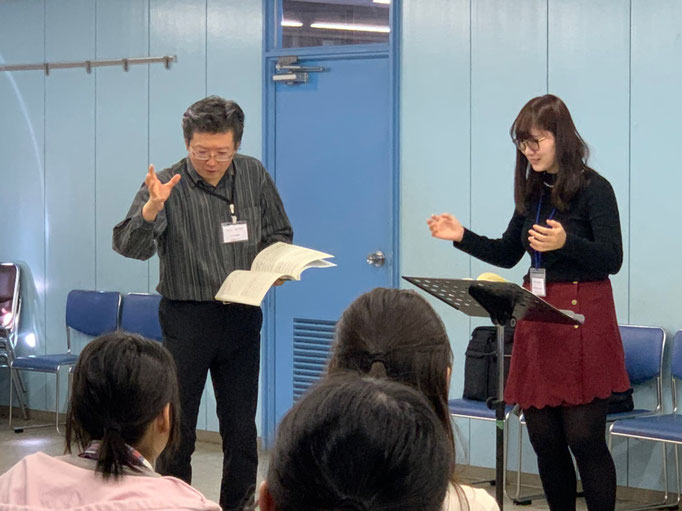 名島先生による中級コース