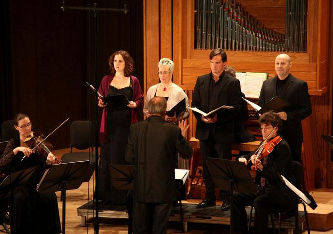 Cantates de la Passion de Graupner, Salle Bourgie,  Les idées Heureuses