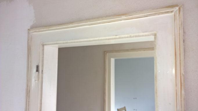 Oberflächenbehandlung: Zimmertüren, Farbton Beizen, versiegeln, Eiche Parkett