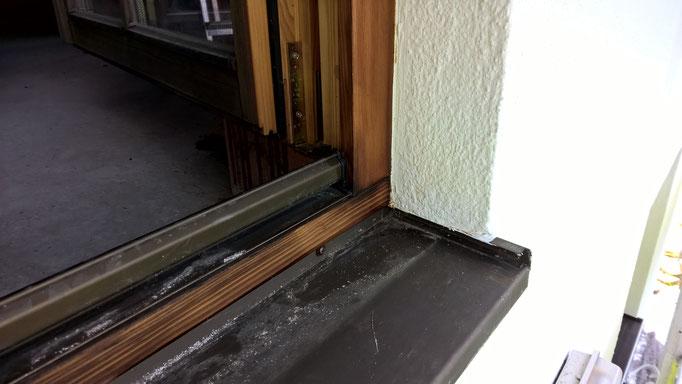 Aufbau der neuen Oberflächen mit UV Blocker