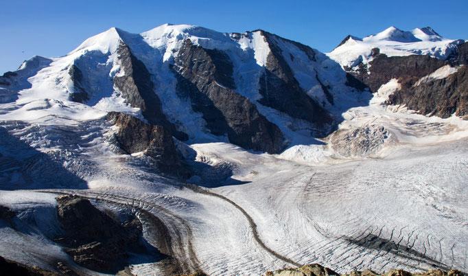 Piz Palü 3901 m Piz Bellavista 3922 m