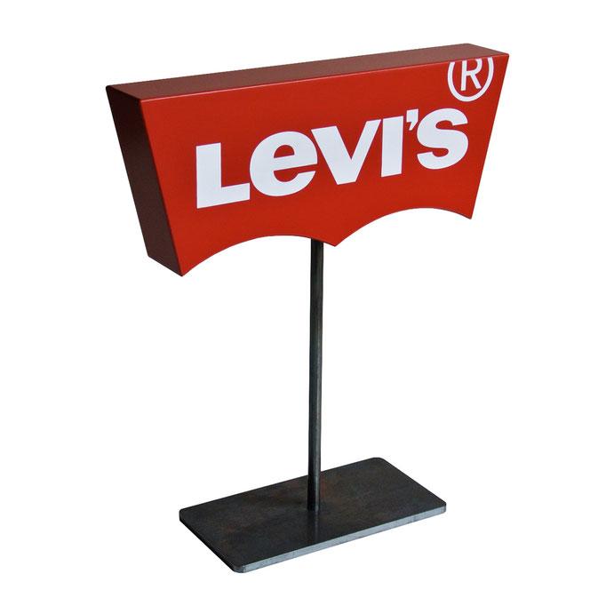 LEVI'S batwing con piedistallo in metallo