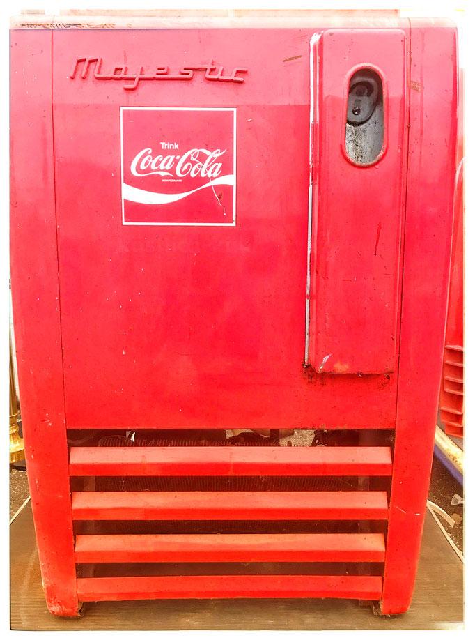 Coca Cola majestic Eistruhe