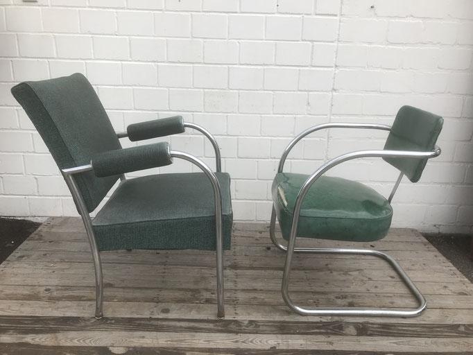 Amerikanische Stahlrohr Sessel