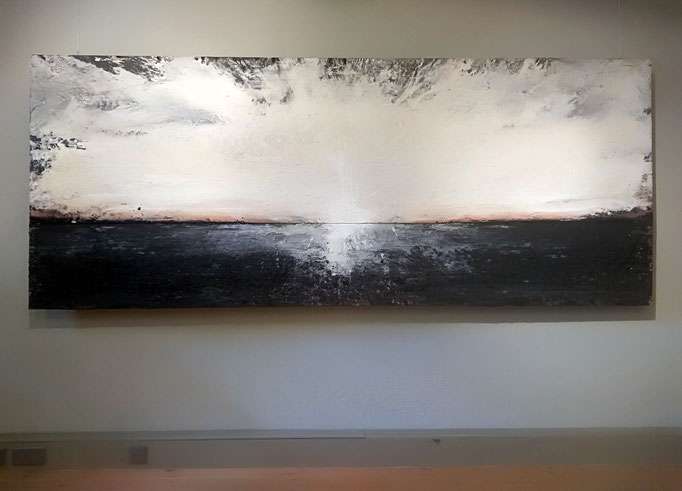 120x300 cm, acrylic, oil and pigments on plywood, 9600 € Fav Anne