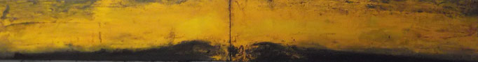 40 x 280 cm acrylic oil and pigmants on canvas 5900 €