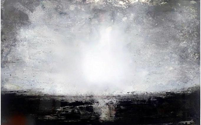Acrylic on plexiglas, 40 x 60 cm