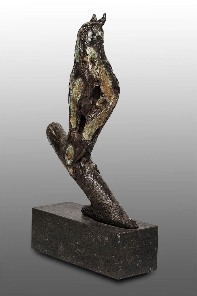 Wilma Hoebee, bronze, Ransuil