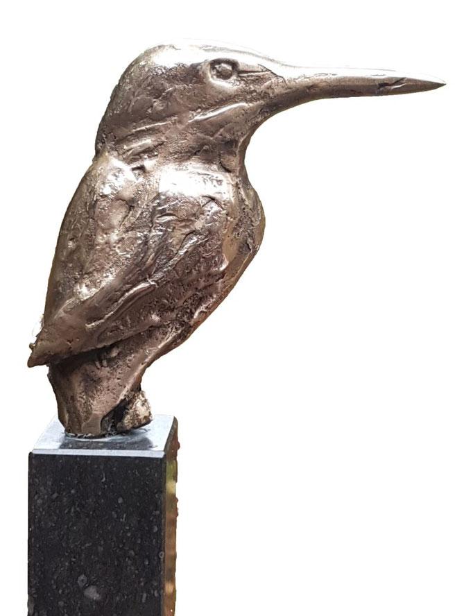 Wilma Hoebee, bronze, IJsvogel
