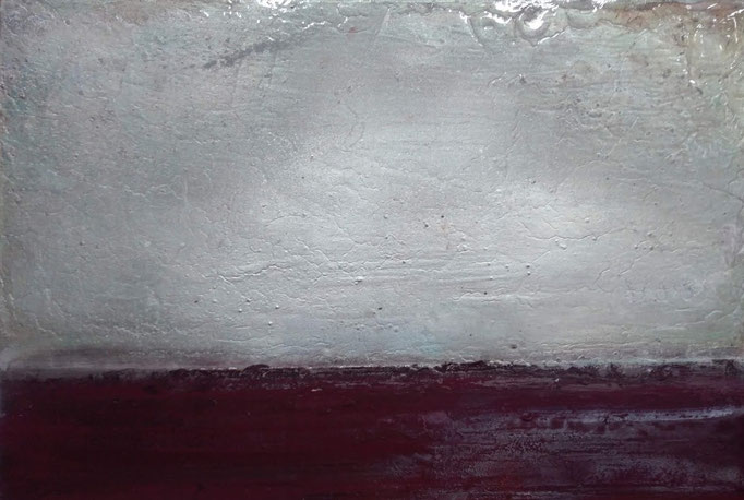 50 x 70 cm acrylic, pigments and lacquer on aliminum 2000 €
