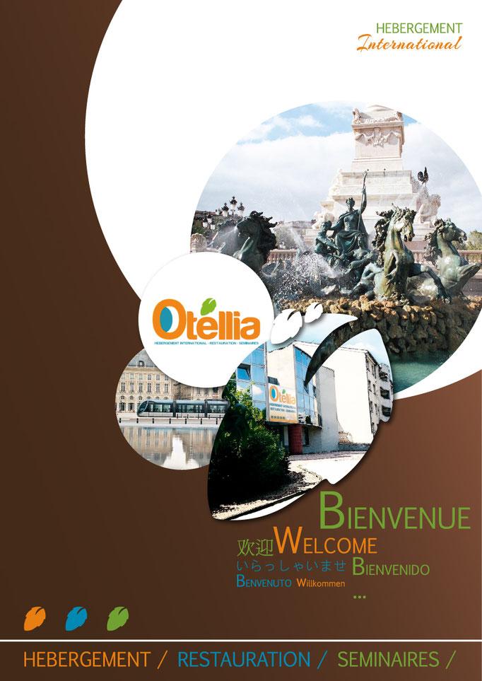 Réalisation d'une chemise à rabat pour un établissement d'hébergement - Otellia