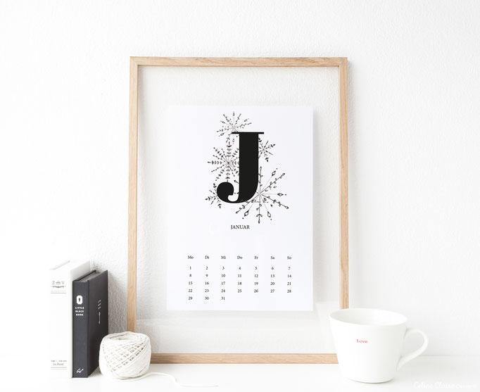 Monat Januar (Blog-Titelbild: Monat Juni)